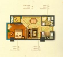 耀邦公馆公寓户型图