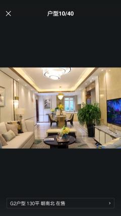 (城西区)恒泰金樾府3室2厅2卫130.25m²毛坯房