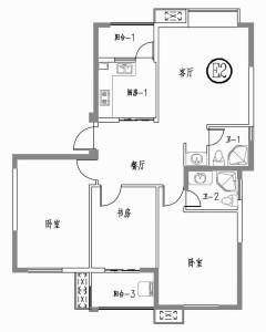 (开发区)水杉御景3室2厅2卫