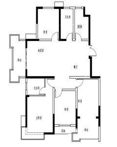(新城区)东方名郡4室2厅2卫
