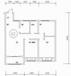 (城东区)天鸿水岸景城3室2厅1卫