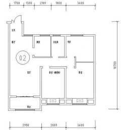 (城东区)天鸿水岸景城3室2厅1卫112.37m²