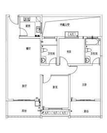 (城西区)国际未来城3室2厅2卫132.74m²