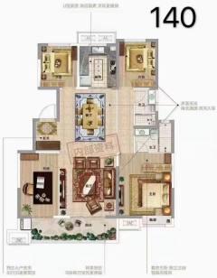 (城东区)华地桃源里3室2厅2卫105万140m²出售