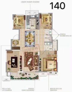 (城东区)华地桃源里3室2厅0卫110万140m²出售