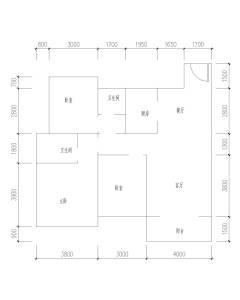 (城东区)中梁国宾府3室2厅2卫85万127.25m²毛坯房出售