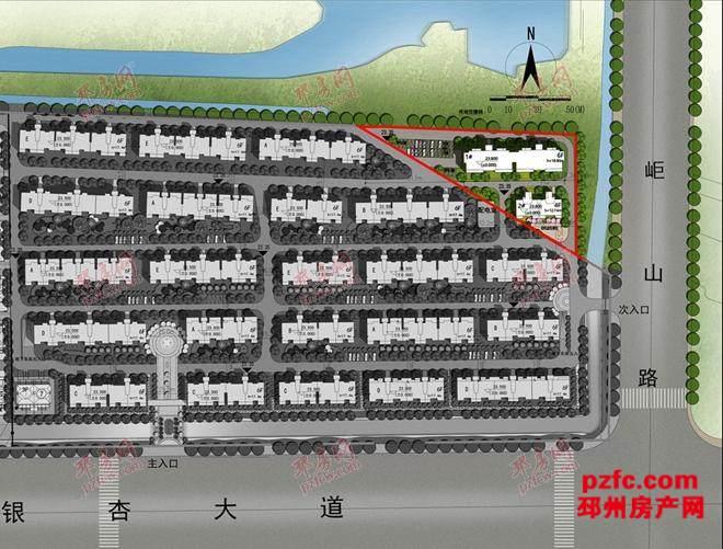 邳州凤凰墅三期规划图