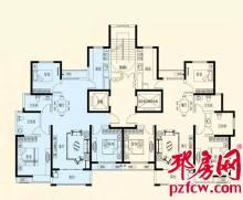 雍福上城户型图